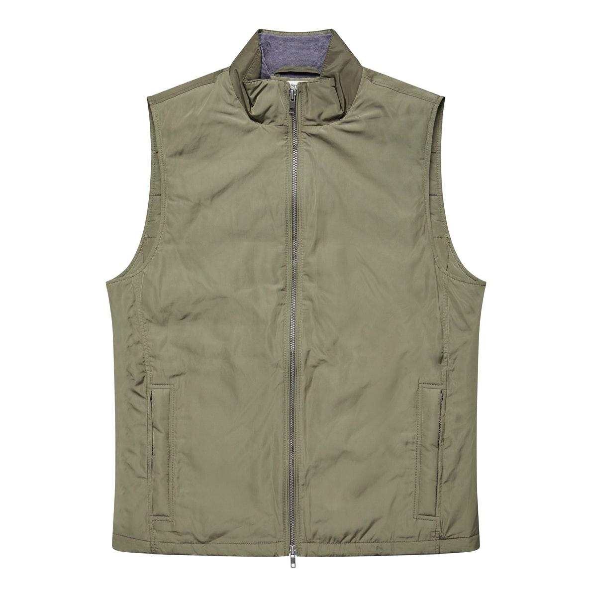 The Pemberton Olive Vest