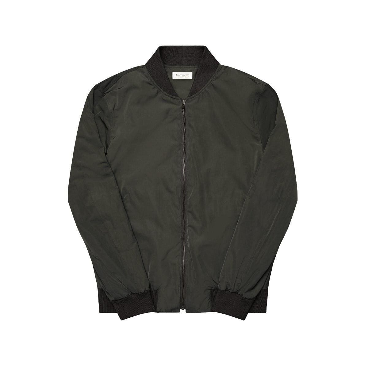 The Cheshire Grey Bomber Jacket