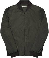 The Cheshire Grey Bomber Jacket