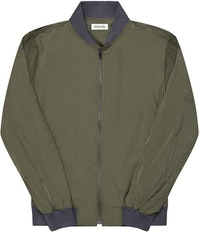 The Cheshire Olive Bomber Jacket