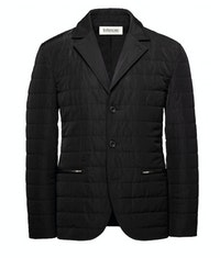 The Albion Quilted Black Jacket