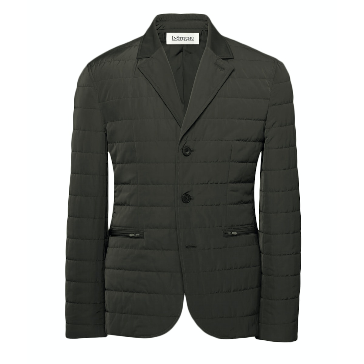 The Albion Quilted Grey Jacket