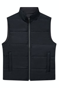 The Watergate Reversible Black Vest