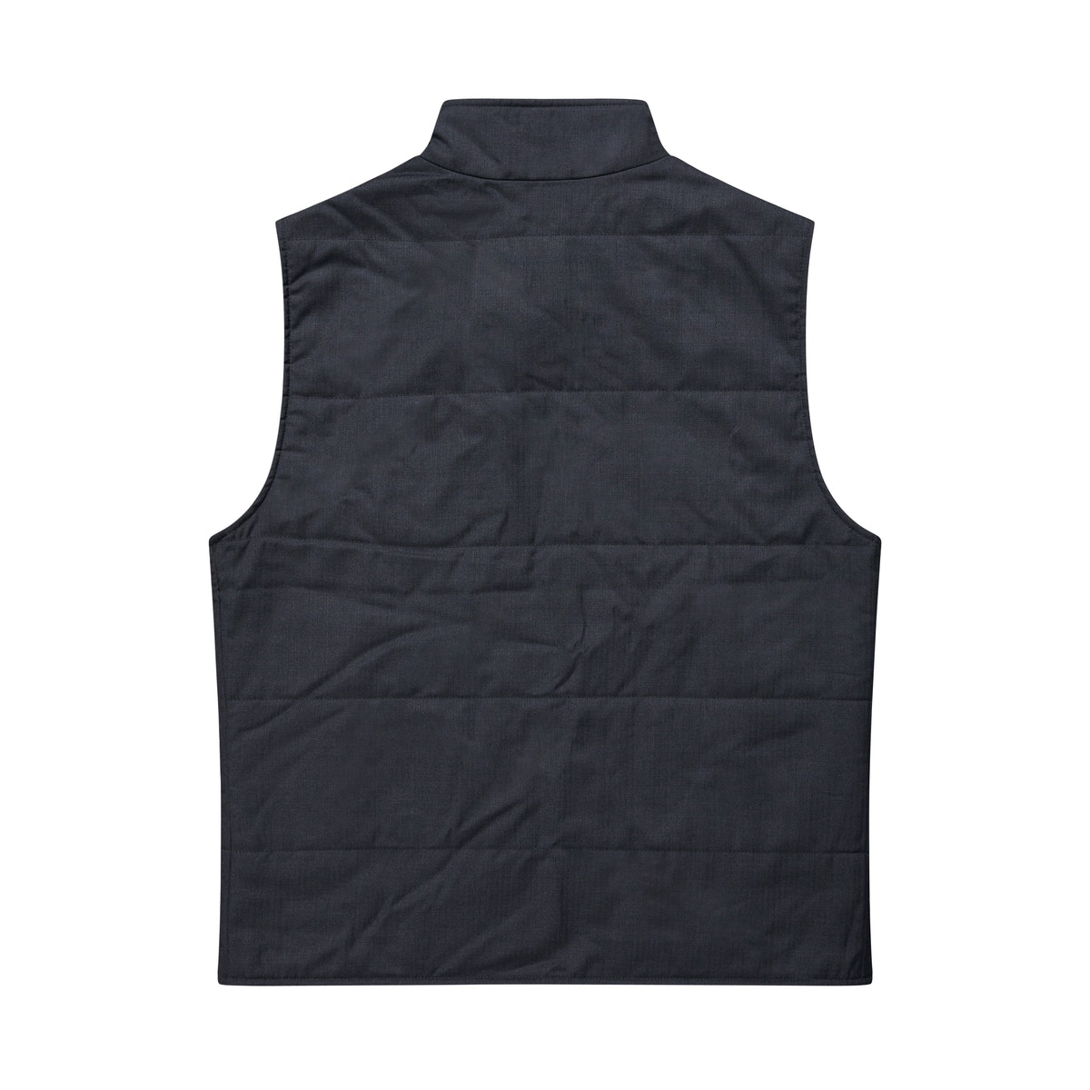 The Watergate Reversible Charcoal Vest