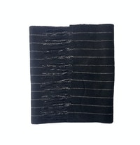 The Lupus Navy Wool Cashmere Scarf