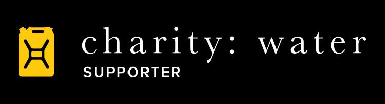 charity: water logo