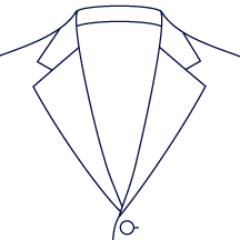 Wide Notch Lapel