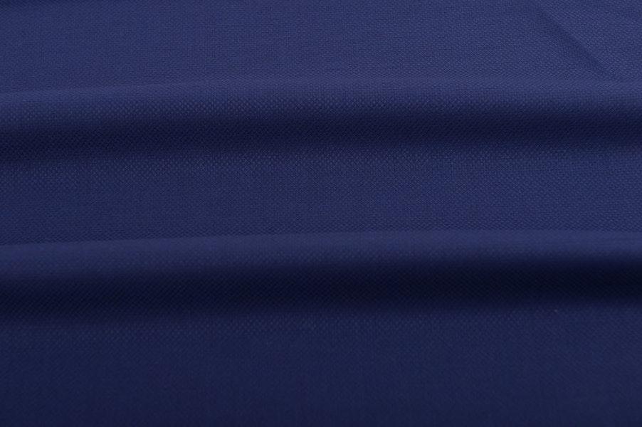 Navy Blue Cool Wool Single-Breasted Blazer