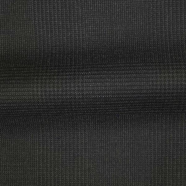 InStitchu Collection The Verona Charcoal Glen Plaid Wool Pants