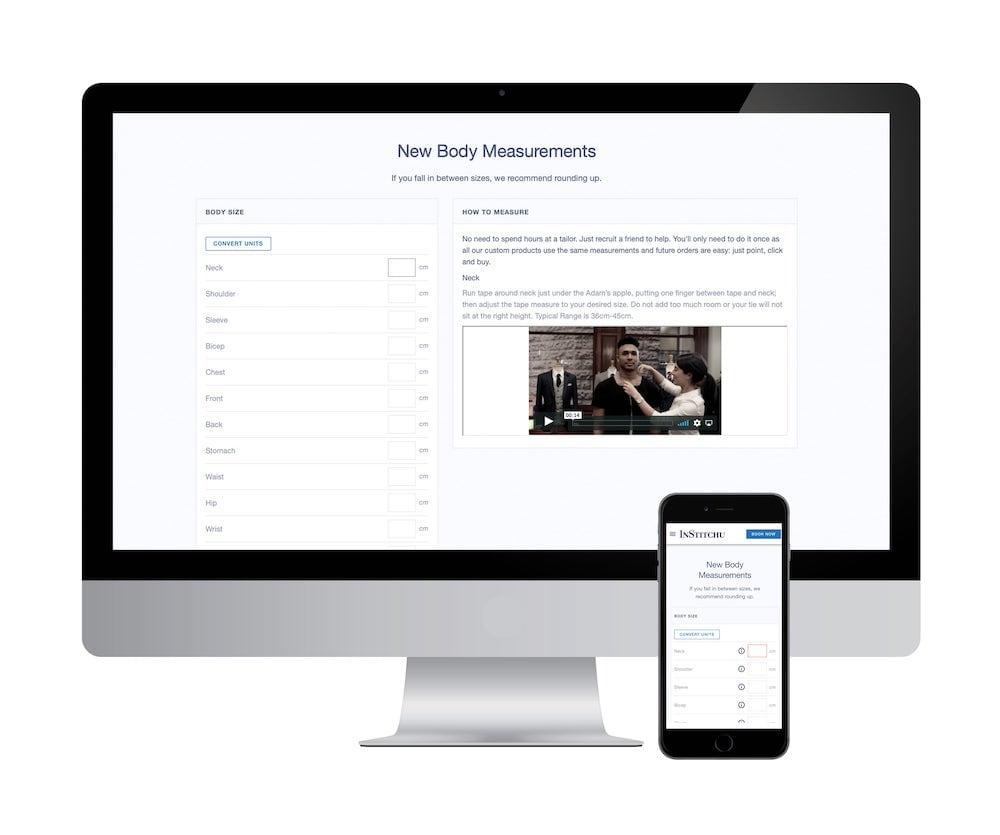 Your Measurements Online