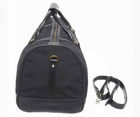 InStitchu Accessories bag TOC Black Canvas Duffel Bag
