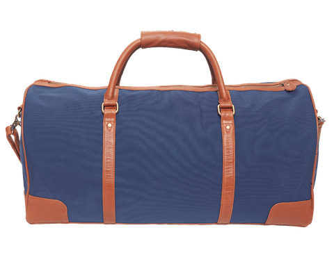 InStitchu Accessories bag TOC Blue Canvas Duffel Bag