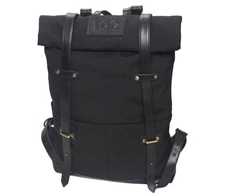 InStitchu Accessories bag TOC Black Canvas Backpack