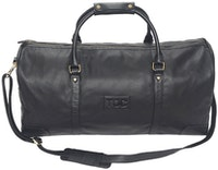 InStitchu Accessories bag TOC Black Leather Duffel Bag