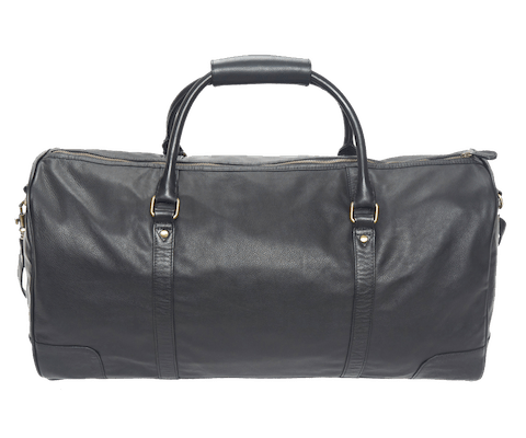 InStitchu Accessories bag TOC Black Leather Garment Bag