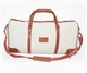 InStitchu Accessories bag TOC White Canvas Duffel Bag