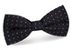 InStitchu Accessories bow-tie InStitchu Black Patterned Bow Tie