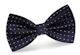 InStitchu Accessories bow-tie InStitchu Navy Dots Bow Tie