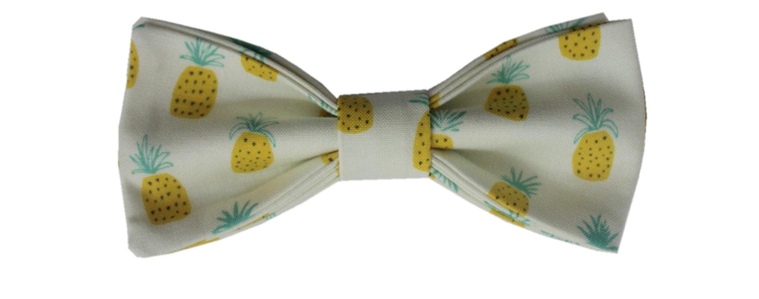 InStitchu Accessories bow-tie Hank in Chief Felix Lemon Bow Tie