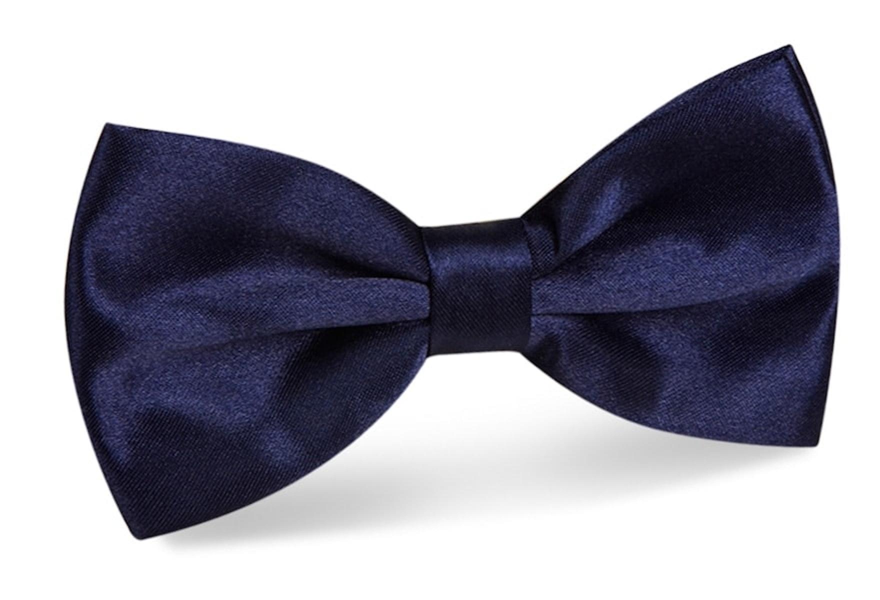 InStitchu Accessories bow-tie InStitchu Navy Bow Tie