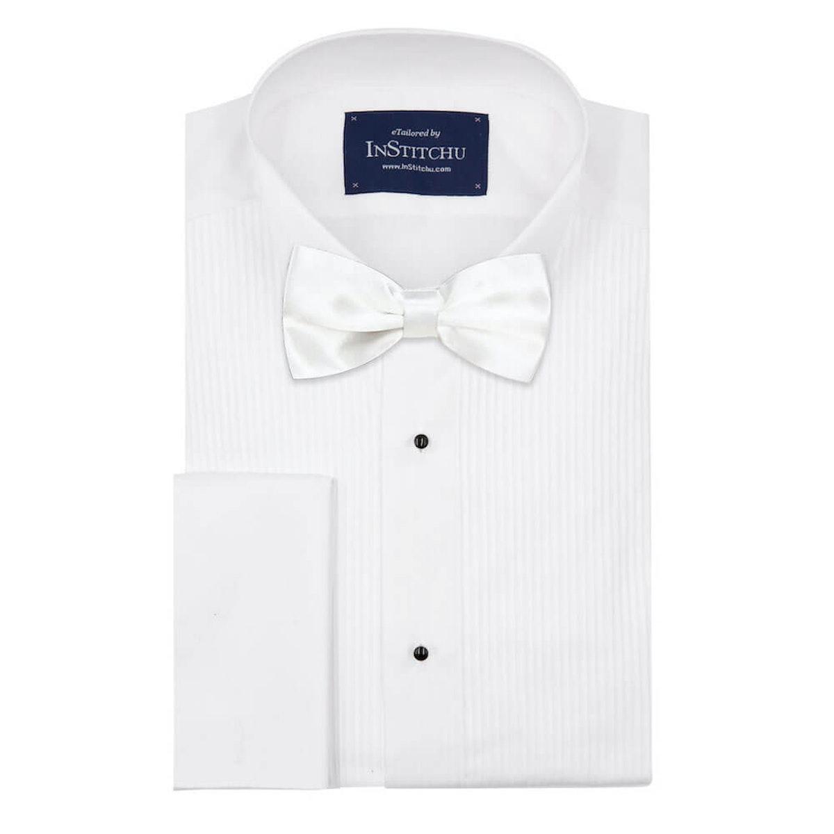 InStitchu Accessories bow-tie InStitchu White Bow Tie