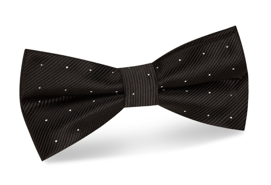 InStitchu Accessories bow-tie The Dahl Black Dots Bow Tie