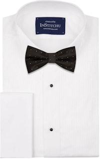 InStitchu Accessories bow-tie The Dahl Black Dots Bow Tie