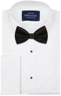 InStitchu Accessories bow-tie The Melville Black Diamond Bow Tie