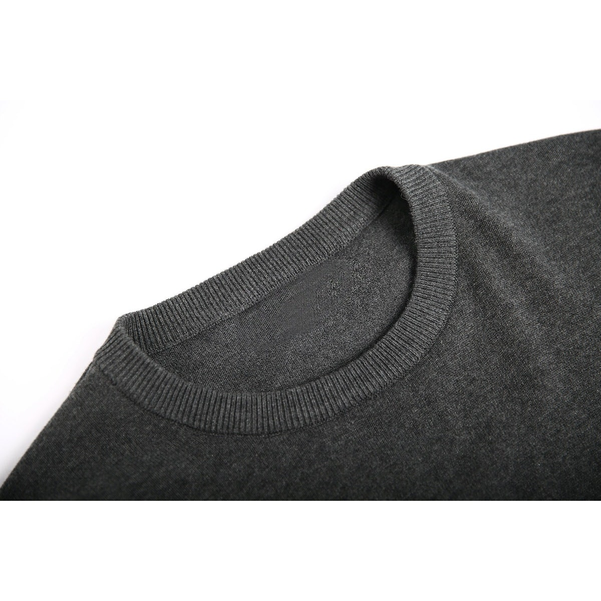 InStitchu Collection Cooper Charcoal Cotton Sweater