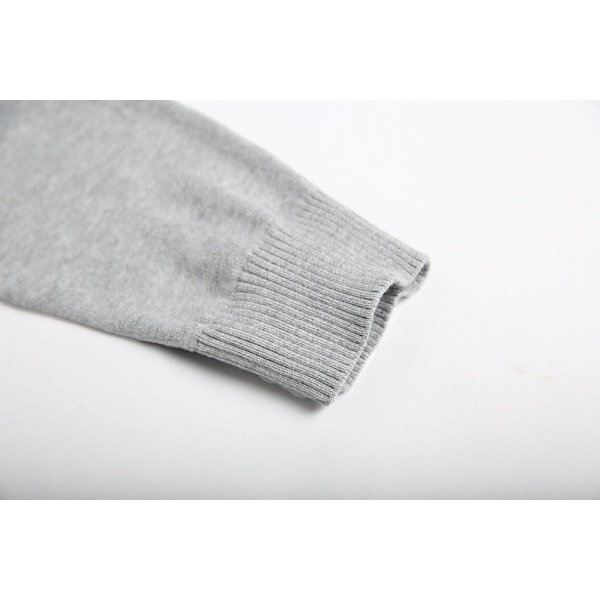 InStitchu Collection Cooper Grey Cotton Sweater
