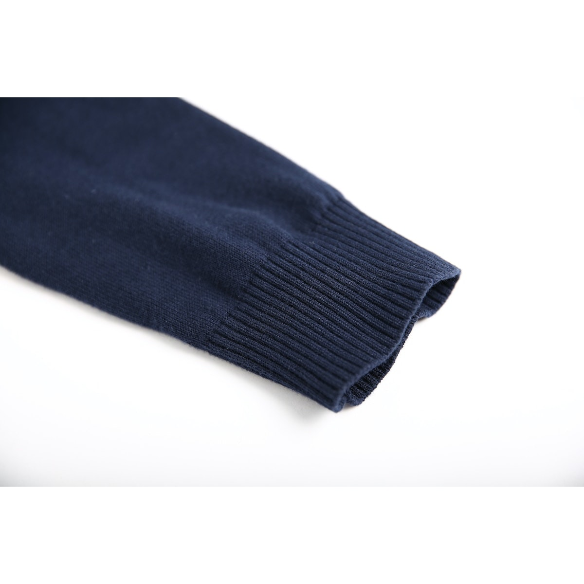 InStitchu Collection Cooper Navy Cotton Sweater