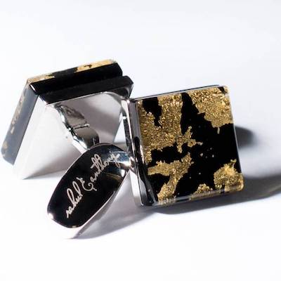 InStitchu Accessories cufflinks Rahul & Anthony Marmoreo