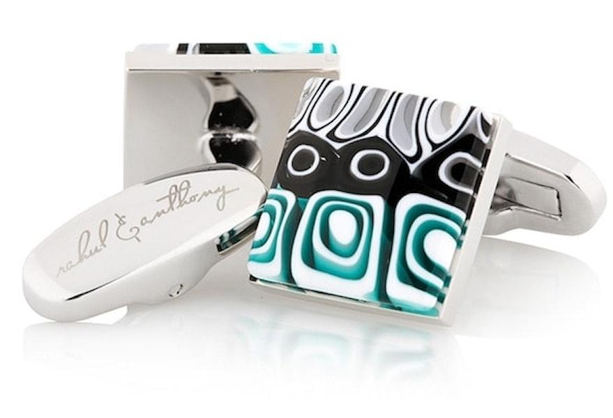 InStitchu Accessories cufflinks Rahul & Anthony Mosaico