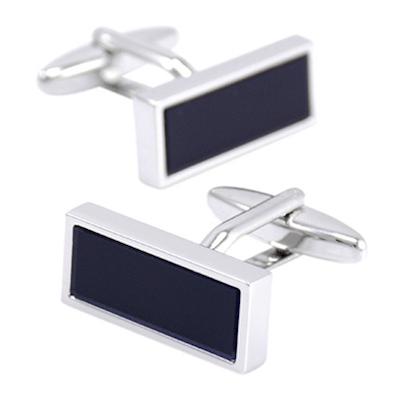 InStitchu Accessories cufflinks InStitchu Black Cufflinks