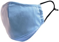 InStitchu Collection Cotton Face Mask Plain Blue 1 Mask