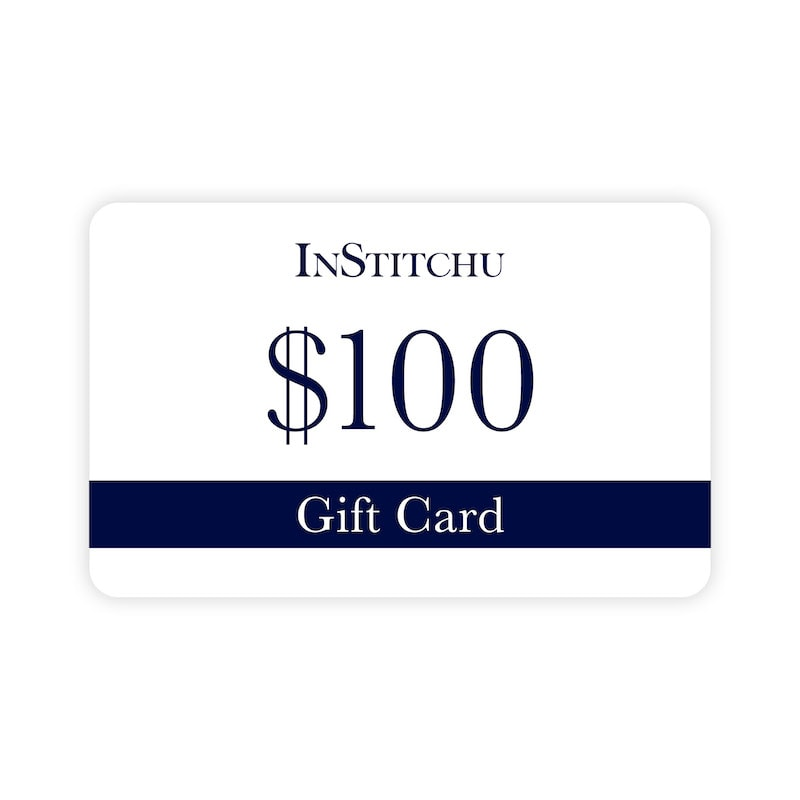 InStitchu Physical Gift Card $100