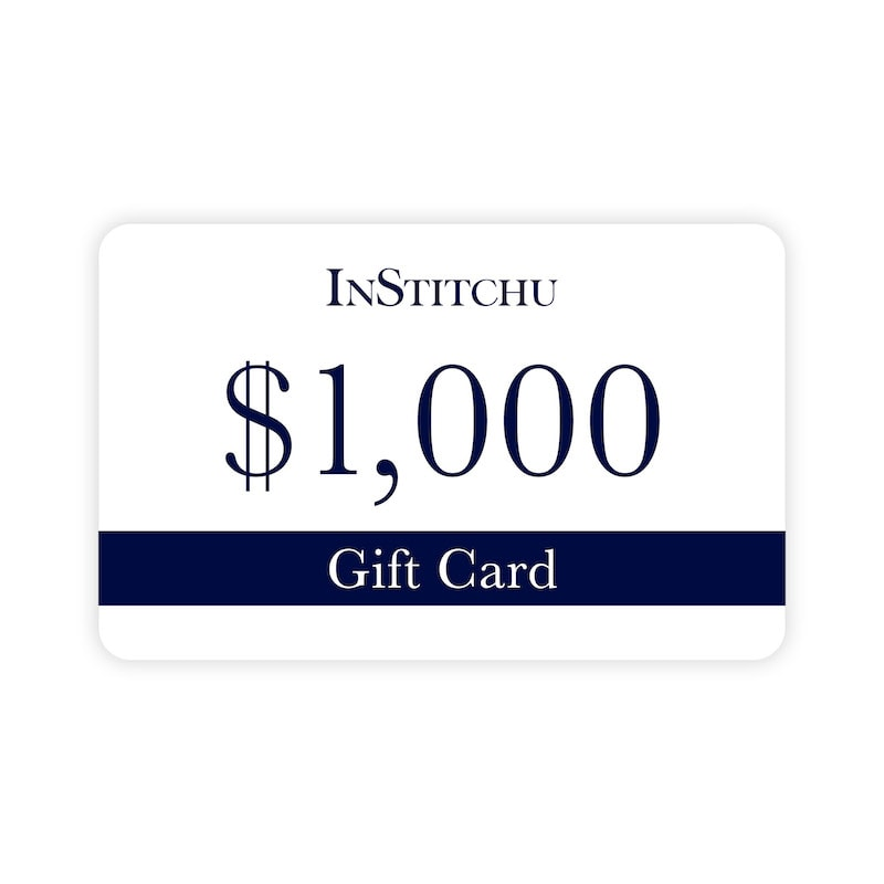 InStitchu Physical Gift Card $1000