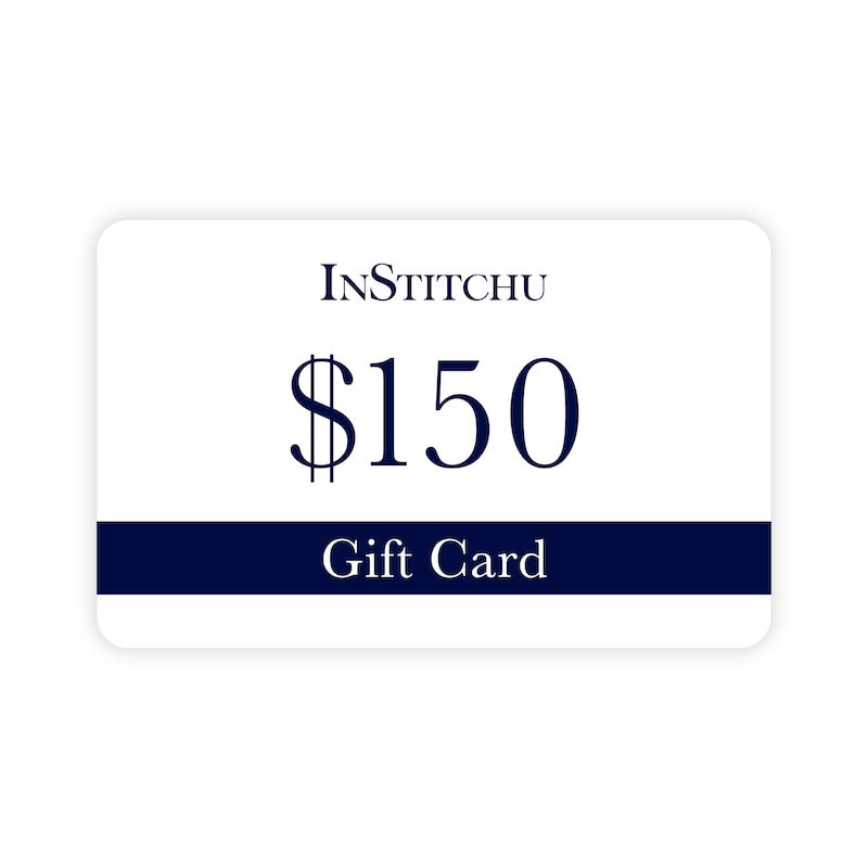 InStitchu Physical Gift Card $150