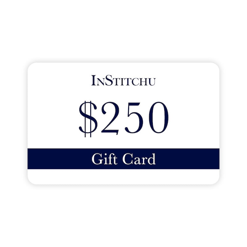 InStitchu Physical Gift Card $250