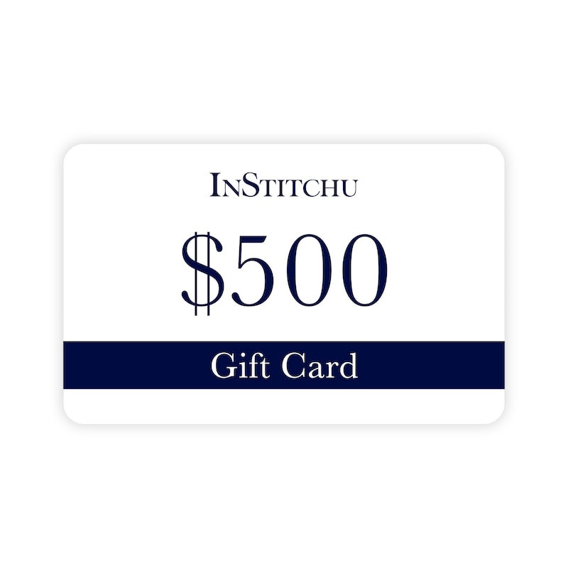 InStitchu Physical Gift Card $500