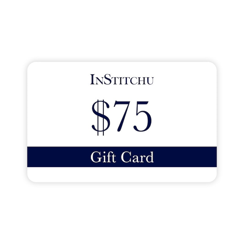 InStitchu Physical Gift Card $75