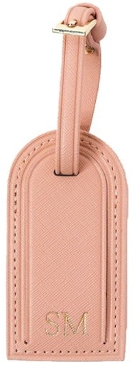 InStitchu Collection Mark And Scribe Pink Luggage Tag