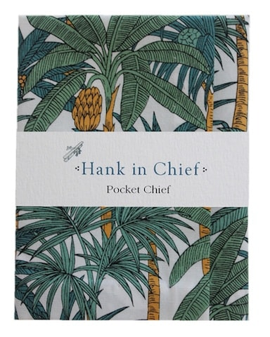 InStitchu Accessories pocket-square Hank in Chief Arnold Pocket Chief