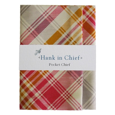 InStitchu Accessories pocket-square Hank in Chief Finley Pocket Chief