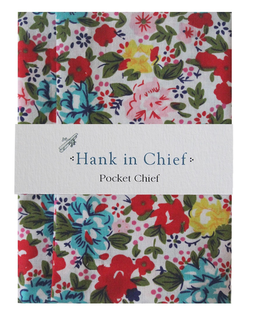 InStitchu Accessories pocket-square Hank in Chief Finn Pocket Chief