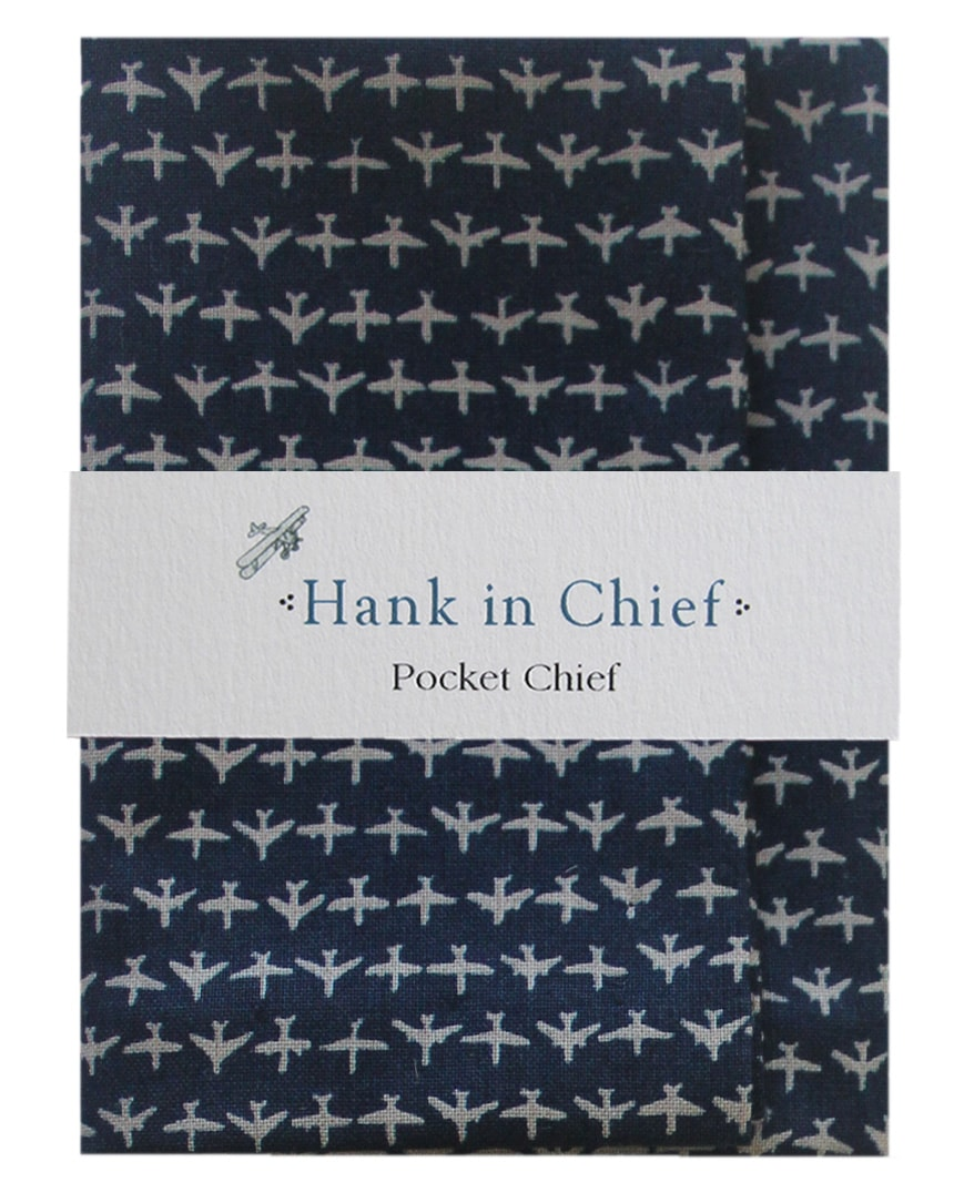 InStitchu Accessories pocket-square Hank in Chief Harvey Pocket Chief