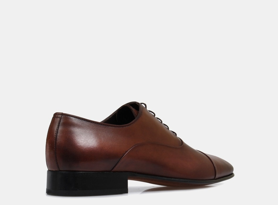 Brando Silver Brown Austin Lace Up shoes