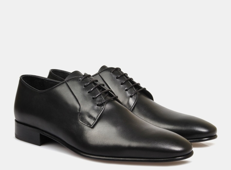 Brando Black Ellis Lace Up shoes