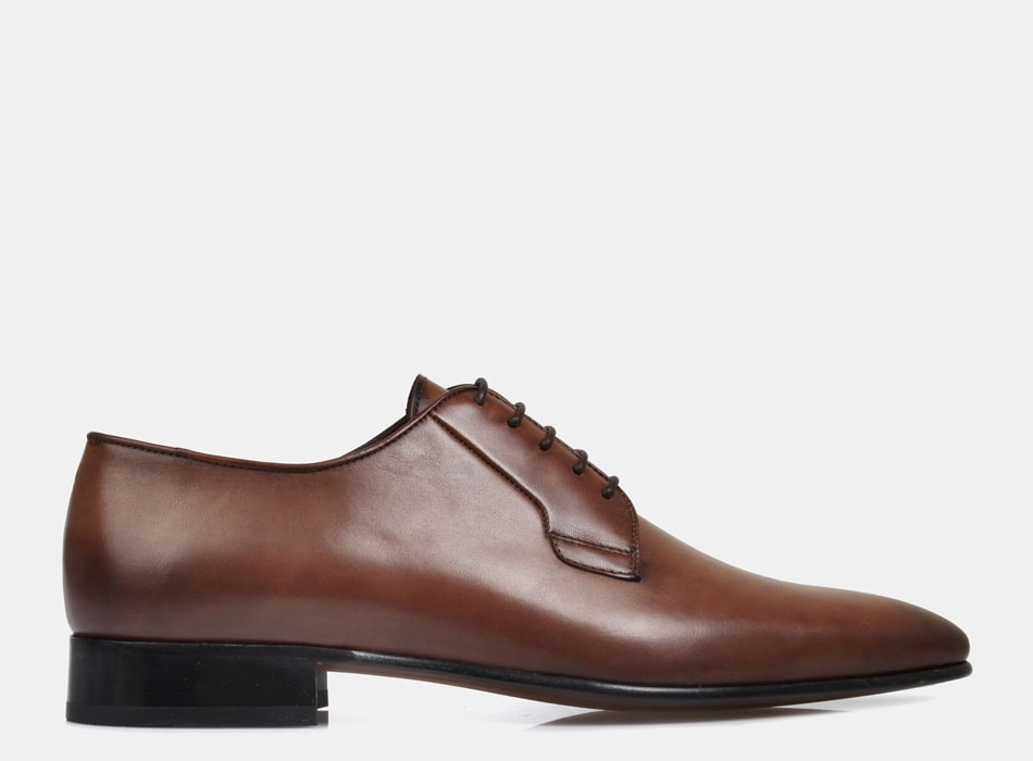 Brando Silver Brown Ellis Lace Up shoes