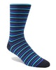 InStitchu Accessories socks Swanky Multi Stripes Blue